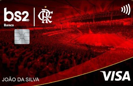 Cartão Flamengo BS2