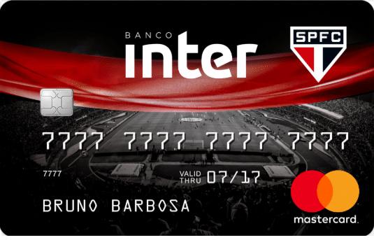 Cartão São Paulo Banco Inter