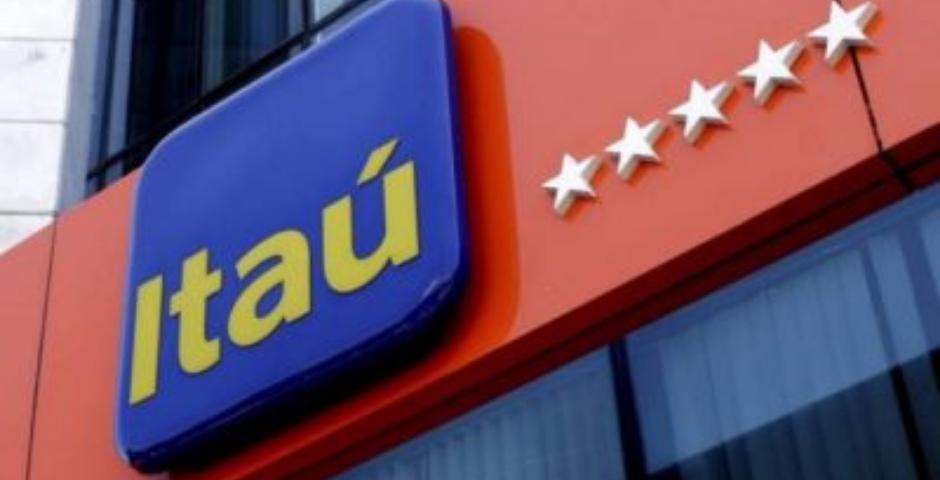 maiores bancos do brasil - logo do banco itau